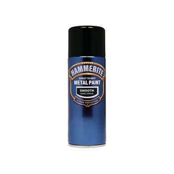 Hammerite Direct to Rust Smooth Finish Aerosol Dark Green 400ml