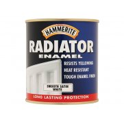 Hammerite Radiator Paint Satin White 500ml