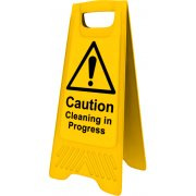 Heavy Duty A-Board - 'Caution Cleaning in progress'