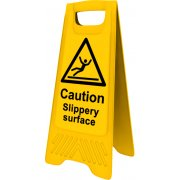 Heavy Duty A-Board - 'Caution Slippery surface'