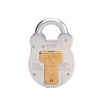 Henry Squire 440 Old English Padlock with Steel Case 51mm