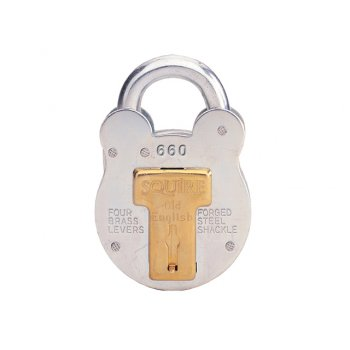 Henry Squire 660 Old English Padlock with Steel Case 64mm