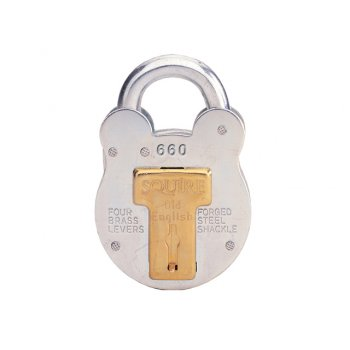 Henry Squire 660KA Old English Padlock with Steel Case 64mm Keyed