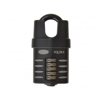 Henry Squire CP60 Combination Padlock 5 Wheel 60mm Close Shackle