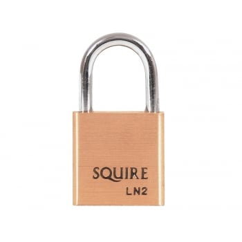 Henry Squire LN2 Lion Brass Padlock 25mm