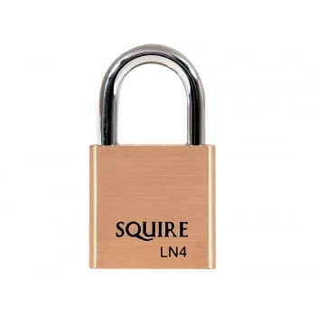 Henry Squire LN4 Lion Brass Padlock 5 Pin 40mm
