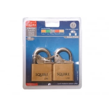 Henry Squire LN5T Lion Brass Padlocks 5 Pin 50mm (2)