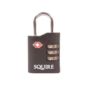 Henry Squire TSA Approved Recodable Combination Padlock 35mm