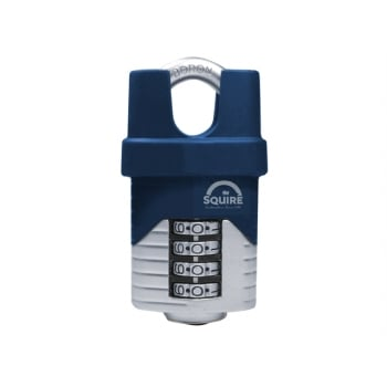 Henry Squire Vulcan Close Boron Shackle Combination Padlock 40mm