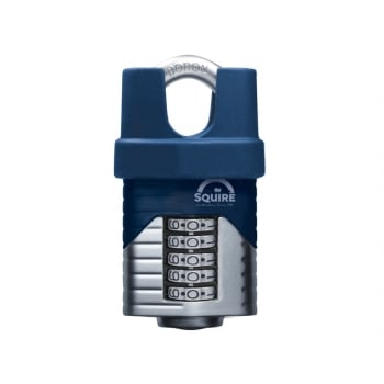 Henry Squire Vulcan Closed Boron Shackle Combination Padlock 60mm