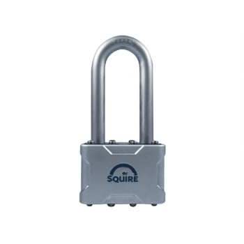 Henry Squire Vulcan Long Boron Shackle Padlock 50mm