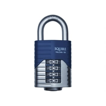 Henry Squire Vulcan Open Boron Shackle Combination Padlock 40mm