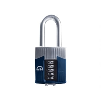 Henry Squire Warrior High-Security Long Shackle Combination Padlock 65mm