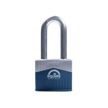 Henry Squire Warrior High-Security Long Shackle Padlock 65mm