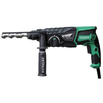Hitachi DH26PX SDS Plus Hammer Drill 3 Mode 830 Watt 110 Volt