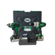 Hitachi KC18DKL Twin Pack Kit 18 Volt 2 x 5.0Ah Li-Ion