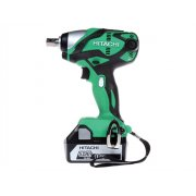 Hitachi WR18DSDL Impact Wrench 18 Volt 2 x 5.0Ah Li-Ion Batteries