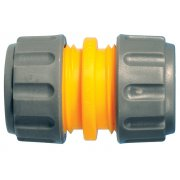Hozelock 2100 Hose Repair Connector 12.5-15 mm (1/2 in & 5/8 in)