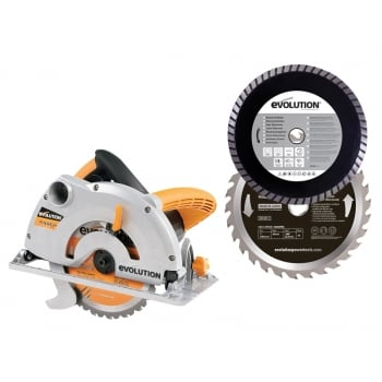 HTC Evolution RAGE-1B Circular Saw Pro-Pack 1200 Watt 110 Volt