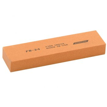 India FB24 Bench Stone 100mm x 25mm x 12mm - Fine