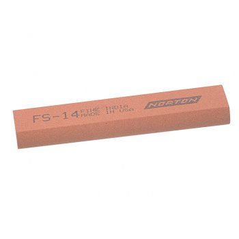 India FS44 Round Edge Slipstone 115mm x 45mm x 13mm x 5mm - Fine