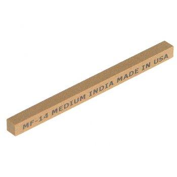 India MF14 Square File 100mm x 6mm - Medium