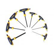 IRWIN T Handle Hexagon Key Set of 8: 2-10mm