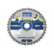 IRWIN Weldtec Circular Saw Blade 235 x 30mm x 20T ATB