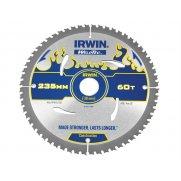 IRWIN Weldtec Circular Saw Blade 235 x 30mm x 60T ATB