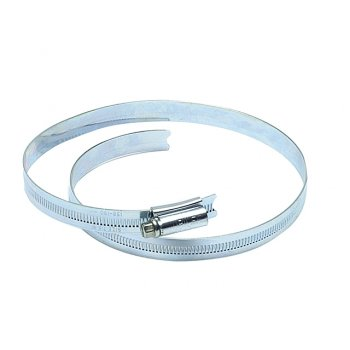 Jubilee Jubilee???? 8.1/2in Zinc Protected Hose Clip 184 - 216mm (7.1/4 - 8.1/2in)