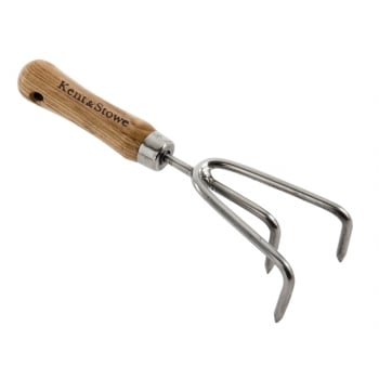 Kent & Stowe Garden Life Hand 3 Prong Cultivator Stainless Steel Model No. 70100770