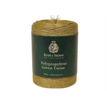Kent & Stowe Poly Green Twine 280m (240g) Model No. 70100810