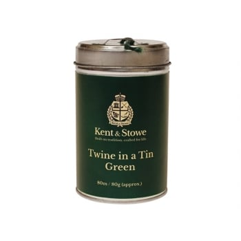 Kent & Stowe Twine In a Tin Green 80m (80g) Model No. 70109667