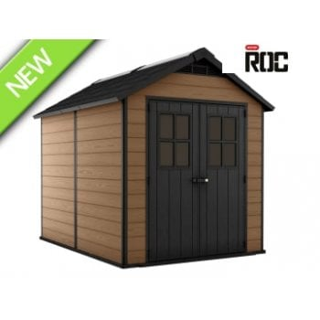 Keter Roc 7511 Newton Shed (Home Delivery)