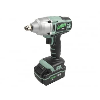 Kielder KWT-002CS-04 1/2in Impact Wrench 18 Volt 2 x 4.0Ah Li-Ion