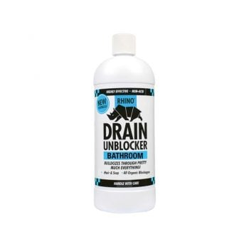 Kilrock Rhino Bathroom Heavy-Duty Drain Unblocker 1 Litre