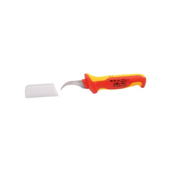 Knipex 180mm Fully Insulated Dismantling Knife : Model No.98 53 13