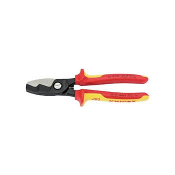 Knipex 200mm Fully Insulated Cable Shears : Model No.95 18 200UKSBE