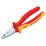 Knipex Combination Pliers VDE Certified Grip 180mm