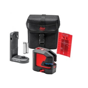 Leica Geosystems Lino L2S-1 Red X Line Laser Starter Pack
