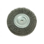 Lessmann Wheel Brush D200mm x W25-27 x 50 Bore Set 3 Steel Wire 0.30