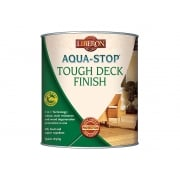 Liberon Aqua-Stop / Advanced Protection Tough Decking Finish Medium Oak 2.5 Litre