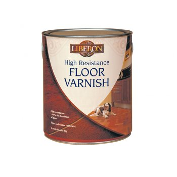 Liberon High Resistance Floor Varnish Wax Effect 2.5 Litre