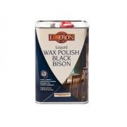 Liberon Liquid Wax Polish Black Bison Neutral 5 Litre