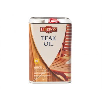 Liberon Teak Oil With UV Filters 5 Litre