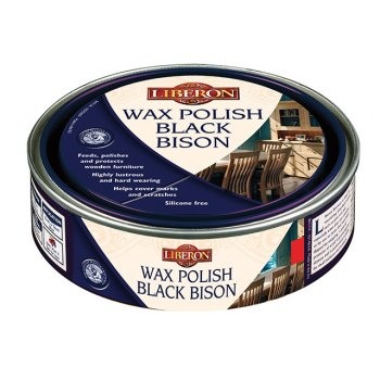Liberon Wax Polish Black Bison Golden Pine 500ml