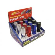 Lighthouse Super Bright 9 LED Pocket Torch (Display of 12)