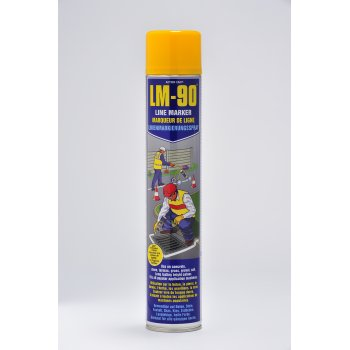 Action Can LM-90 Line Marking Paint Yellow