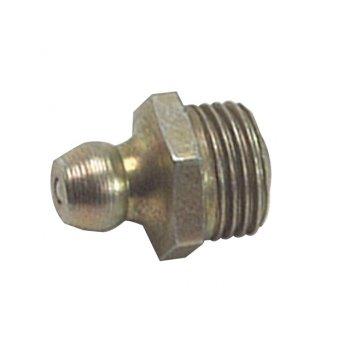 Lumatic HUF4 Hydraulic Nipple Straight 1/4 UNF