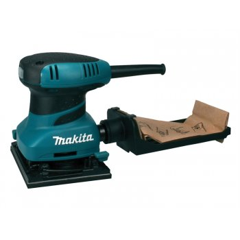 Makita BO4555 Palm Sander 200 Watt 110 Volt & 30 Sand Sheets